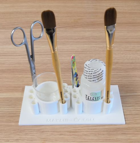 Double glue holder for small cups or bottles