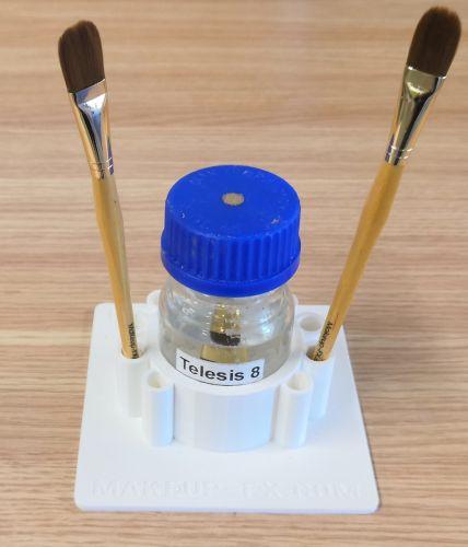 Glue holder for 100 ml lab bottles
