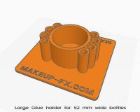 Glue holder for large bottles. Free 3D download