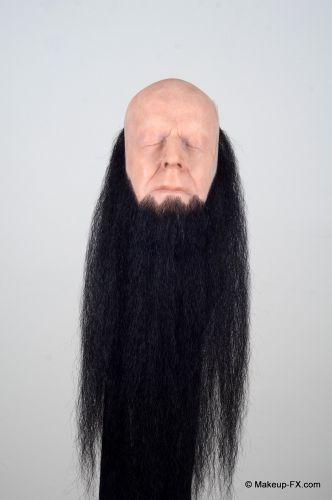 Beard, Black, Long