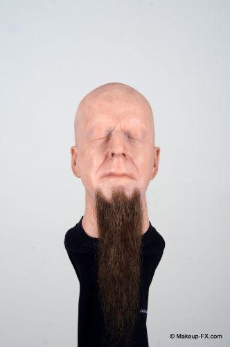 Goatee beard, Dark brown