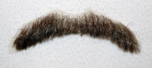 Moustache, Dark brown