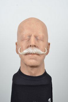 Moustache, White buffalo hair