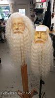 Beard,White buffalo hair, Extra long and thick