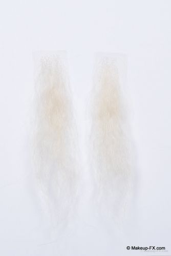 Sideburns, White buffalo hair