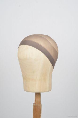 Wig cap, dark brown